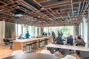Hell und modern präsentiert sich das neue Restaurant, wo ab Herbst auch eine Front Cooking Station zum Einsatz kommt.