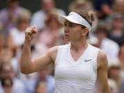Simona Halep erreichte in Wimbledon ihren fünften Grand-Slam-Final der Karriere (Bild: KEYSTONE/AP/TIM IRELAND)