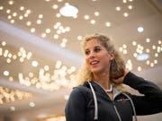 Auch Mountainbikerin Jolanda Neff muss auf den sozialen Medien über die Bücher. Sie zeigt sich einsichtig. (Bild: KEYSTONE/GIAN EHRENZELLER)
