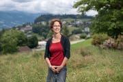 Die neu gewählte Gisela Widmer Reichlin (SP) ist Bauvorsteherin von Adligenswil. (Bild: Pius Amrein, Adligenswil, 16. Juni 2019)