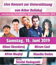 Plakat von Arber Bullkajs Fest.