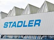 Stadler Rail hat eine Ausschreibung in Italien gewonnen (Archivbild). (Bild: KEYSTONE/WALTER BIERI)