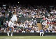 Bislang war der Aufschlag eine Waffe – auch gegen Nadal? (Bild: EPA)