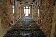 Die historische Bausubstanz im ehemaligen Hotel Europäischer Hof. (Bilder: Philipp Unterschütz, Engelberg, 10. Juli 2019)
