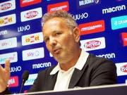 Bolognas Trainer Sinisa Mihajlovic gab an einer Pressekonferenz bekannt, dass er an Leukämie erkrankt ist (Bild: KEYSTONE/EPA ANSA/GIORGIO BENVENUTI)