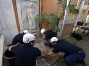 Auf der Suche nach den Überresten der vor 36 Jahren verschwundenen Tochter eines Vatikan-Angestellten, Emanuela Orlandi, waren am Donnerstag die Gräber von zwei deutschen Prinzessinnen geöffnet worden. (Bild: Keystone/EPA/VATICAN MEDIA HANDOUT)