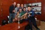 Wichtiger Bestandteil im Djokovic-Team: Craig O'Shannessy (l.). (Bild: zVg)