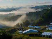 Das Weltpfadfinderlager findet dieses Jahr auf dem Gelände einer renaturierten Tagebaumiene in Oak Hill im US-Bundesstaat West Virginia statt. (Bild: World Scout Jamboree/Michael Roytek)