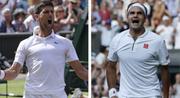 Novak Djokovic vs. Roger Federer: Die 48. Auflage folgt in Wimbledon. (Bild: KEY)