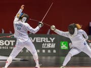 Laura Stähli scheiterte bei der WM in Budapest schon in der 1. Runde (Bild: KEYSTONE/EPA/ALEKSANDAR PLAVEVSKI)