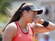 Tess Sugnaux verlor in Lausanne ihre Premiere auf der WTA-Tour (Bild: KEYSTONE/SALVATORE DI NOLFI)