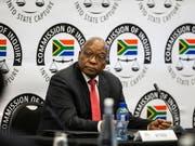 Der ehemalige südafrikanisch Präsident Jacob Zuma sieht die gegen ihn erhobenen Korruptionsvorwürfe als «Komplott». (Bild: KEYSTONE/EPA AFP POOL/WIKUS DE WET / POOL)