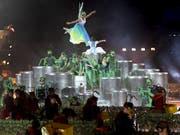 Die Organisatoren erwarten bis zu einer Million Besucher an der Fête des Vignerons in Vevey VD. (Bild: KEYSTONE/LAURENT GILLIERON)