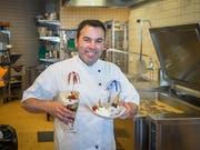 Jorge Fonseca in der Restaurantküche. (Bild: Hanspeter Schiess)