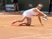 Alles kämpfen half Ylena In-Albon am Ende nichts: Niederlage nach zweieinhalb Stunden gegen Daria Gavrilova (Bild: KEYSTONE/SALVATORE DI NOLFI)