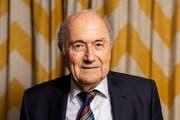 Joseph «Sepp» Blatter im Restaurant Sonnenberg. (Bild: Severin Bigler, 10. Mai 2019, Zürich)