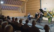 In der Chamau Hünenberg waren unter anderem düstere Werke von Antonín Dvořák und Leoš Janáček zu hören. (Bild: Maria Schmid; 14. Juli 2019)