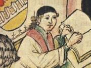 Der Gelehrte Winand Ort von Steeg (1371 bis 1454) in seiner Studierstube. Wer unter den Gelehrten des Mittelalters wen kannte, zeigt eine neue Online-Datenbank. (Bild: Bayerisches Hauptstaatsarchiv München, Geheimes Hausarchiv)