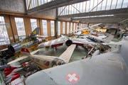 Ein Blick ins Flieger- und Fahrzeugmuseum Altenrhein, das am kommenden Wochenende wieder eröffnet wird. (Archivbild: Urs Bucher)
