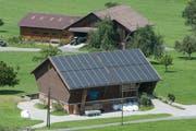 Ein Bauernhof in Flüeli-Ranft. (Bild: Boris Bürgisser, 13. Juni 2019)