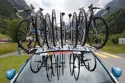 Die Schweizer Equipe IAM Excelsior steht vor dem Aus (Bild: Peter Klaunzer / Keystone)