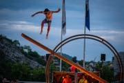 Der Zirkus Fahraway tritt im Freien auf. (Bild: PD)