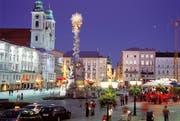 Auch barocken Baustil gibt es in Linz zu bestaunen. Etwa am Hauptplatz. (Bild: zvg)