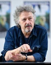 Wolfgang Niedecken (68): «Ich gehöre zu jenen Musikern, denen man dabei zugucken kann, wie sie auf der Bühne alt werden.» (Bild: Keystone)