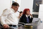 Ancillo Canepa, Präsident FCZ und Heliane Canepa, Unternehmerin. (Bild: Susi Bodmer)
