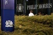 Sitz des Tabakkonzern Philip Morris in Lausanne: Das Unternehmen ist Partner der Schweiz an der Weltausstellung 2020 in Dubai. (Bild: Laurent Gilliéron/Keystone)