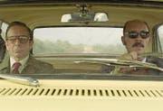 Der Privatdetektiv ermittelt gegen den Anwalt: Darío Grandinetti (rechts) und Alfredo Castro in «Rojo». (Bild: Filmcoopi)