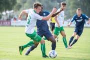 Lukas Görtler im Testspiel mit St.Gallen gegen Bochum. (Bild: Urs Bucher)