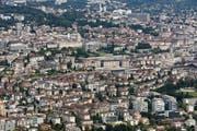 Lausanne hat von 2007 bis 2017 um 16,6 Proeznt zugelegt. (Bild: Keystone)