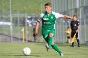 Miro Muheim am Testspiel gegen den FC Thun. (Bild: Claudio de Capitani/Freshfocus)