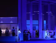 Mit Witz und Verve erkundet die Regie die Dimensionen des Mannseins. Bild: Karl Forster/Bregenzer Festspiele