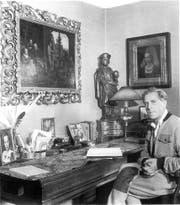 Paul Meyer, der Schlossherr des Wolfsbergs. (Bild: Privatbesitz)