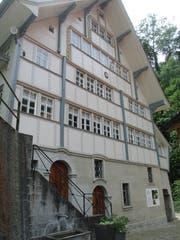 Die Alte Mühle wird liebevoll gepflegt. (Bild: Peter Eggenberger)