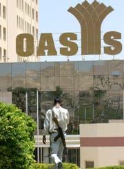 Der Nahostkonflikt zwang das Casino Oasis in Jericho zur Schliessung. (Bild: EPA/Key, Jericho, 18. August 2003)
