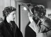 Linda Geiser sah man in vielen Franz-Schnyder-Filmen: 1957 in «Der 10. Mai» mit Heinz Reincke. (Bild: SRF/Franz Schnyder)