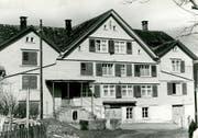Die Botsberger Mühle, wie sie viele Jahrhunderte bis 1972 bestand. (Bilder: Johannes Rutz)
