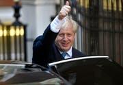 Boris Johnson, neuer Vorsitzender der konservativen Tories. (Bild: EPA/NEIL HALL, London, 23. Juli 2019)