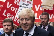 Wer wird der nächste britische Premier? Boris Johnson oder Jeremy Hunt? (Bild: Will Oliver/EPA)
