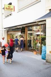Der Alnatura Bio-Supermark befindet sich an der Hertensteinstrasse 40. (Bild: Jakob Ineichen, Luzern, 24. Juli 2019)