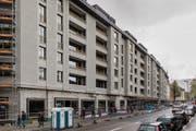 Blick die ABL-Siedlung Himmelrich 3 am Tag der offenen Tür. (Bild: PD, Luzern, 27. April 2019)