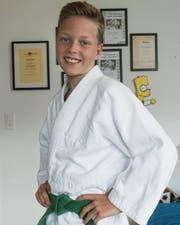 Spencer Reichardt macht seit sechs Jahren Judo. (Bild: Adriana Ortiz Cardozo (26. Juli 2019))