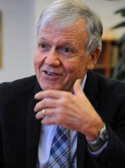 Der Autor dieses Beitrags: Carl Bossard - früherer Rektor am Kollegi Stans. (Bild Markus von Rotz)