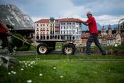 Im Swissminiature in Melide wird die Schweiz als Museum inszeniert. (Bild: Gabriele Putzu)