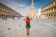 Auf der Piazza San Marco in Venedig ist der Rummel normalerweise grösser. (Bild: Getty Images)
