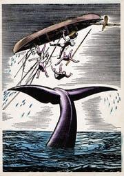 Illustration aus der Novelle «Moby Dick» von Herman Melville. (Bild: Getty)