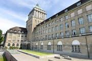 Das Hauptgebäude der Universität Zürich. Bild: Keystone/Walter Bieri.